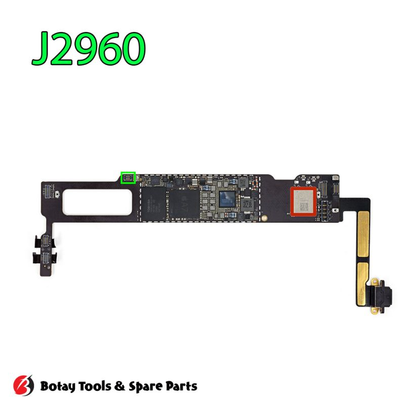 iPad mini 2 Touch Power Button FPC Connector Port Onboard #14 pins #J2960