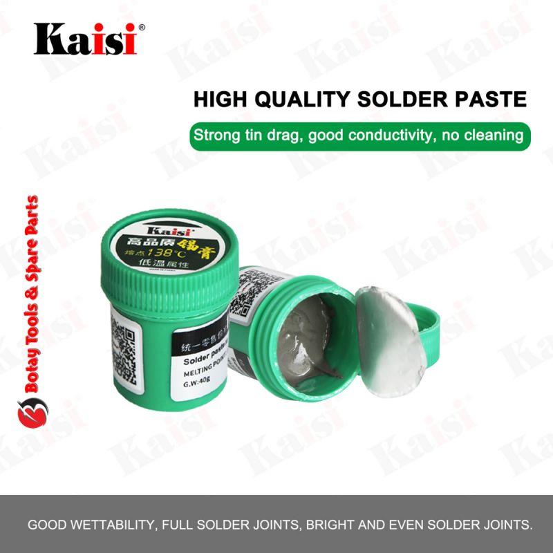 Kaisi High Quality Solder Paste 138'C 40g - Green