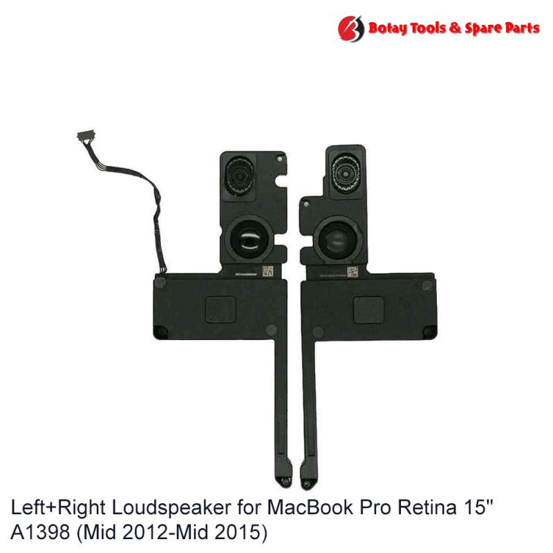 """Left+Right Loud Speaker for MacBook Pro Retina 15"""" A1398 (Mid 2012-Mid 2015)"""