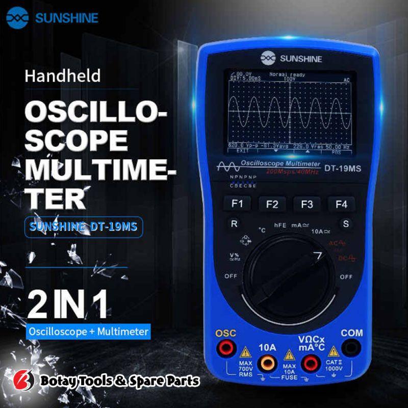 SUNSHINE DT-19MS Oscillope Digital Multimeter
