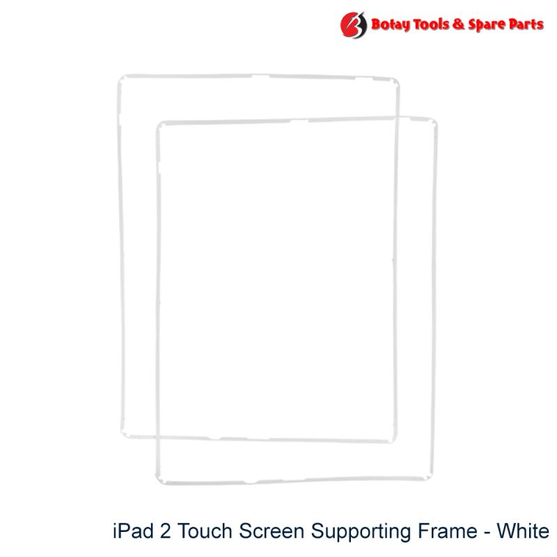 iPad 2 Touch Screen Supporting Frame - White