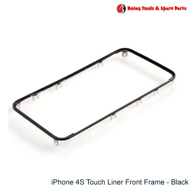 iPhone 4S Touch Liner Front Frame - Black