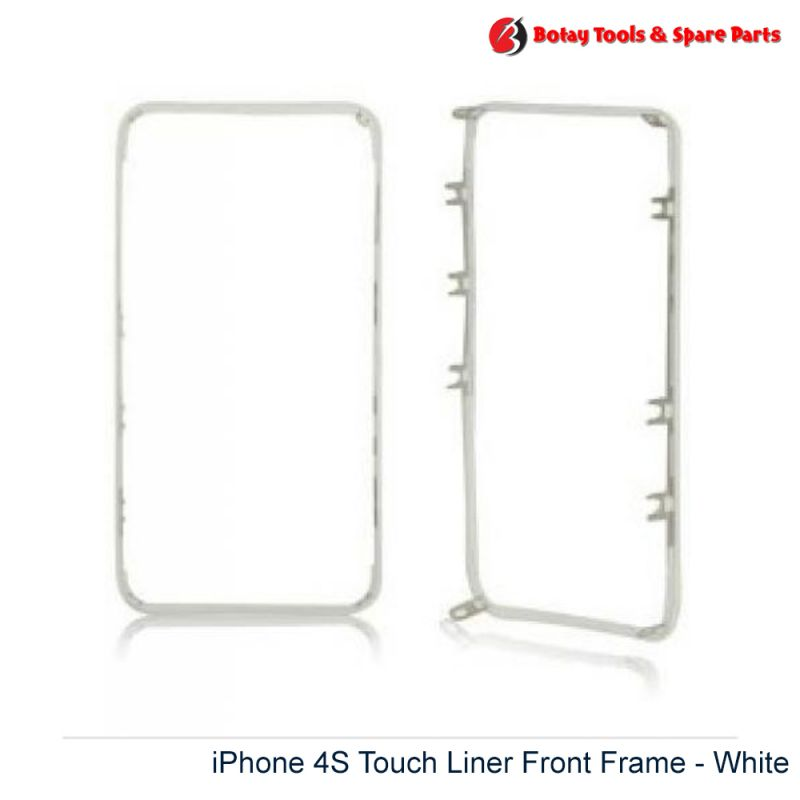 iPhone 4S Touch Liner Front Frame - White