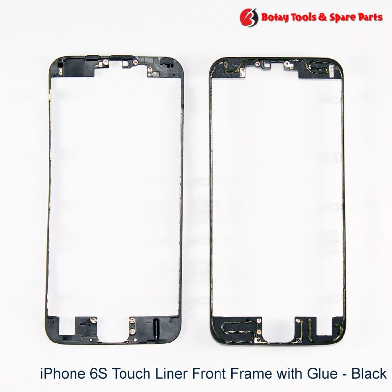 iPhone 6S Touch Liner Front Frame with Glue - Black