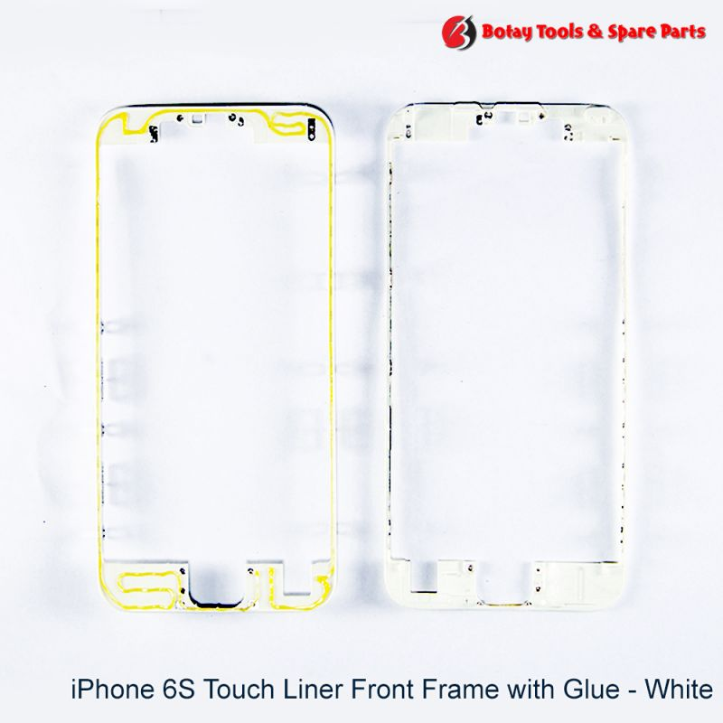 iPhone 6S Touch Liner Front Frame with Glue - White