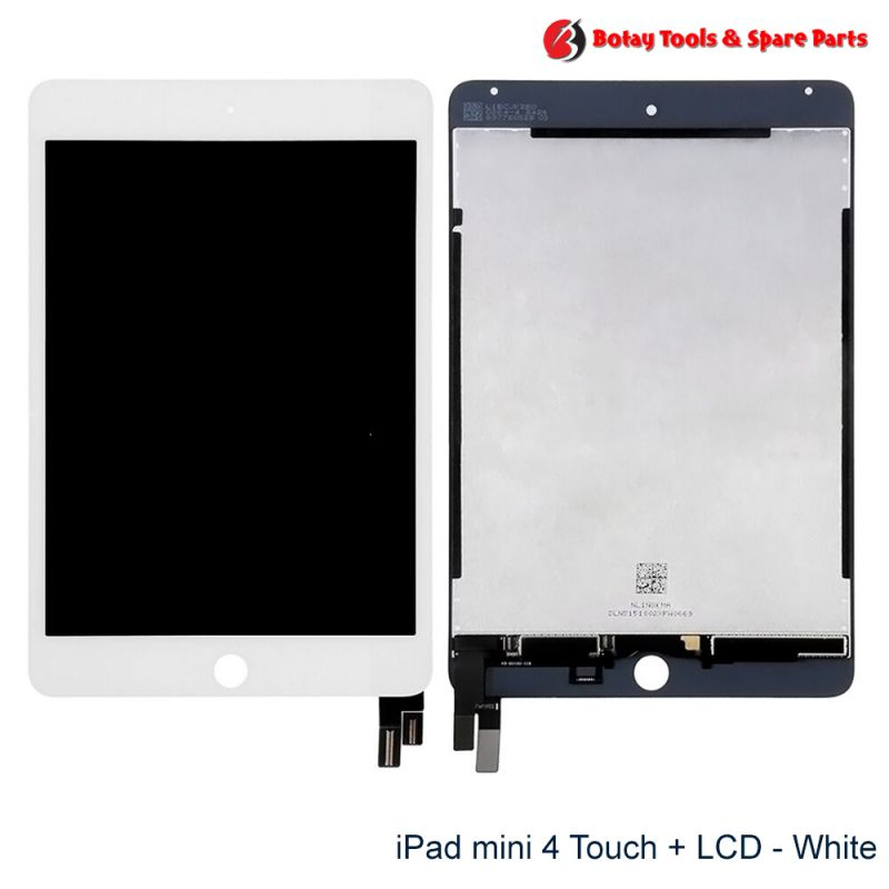 iPad mini 4 LCD Display and Touch Screen Digitizer Assembly - White