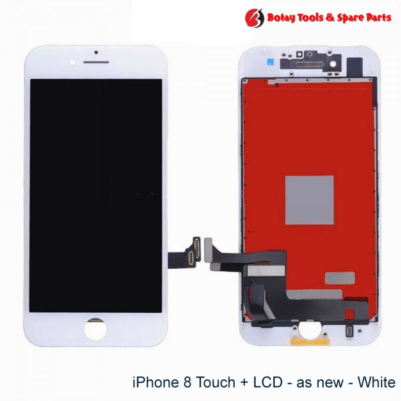 iPhone 8-SE 2 LCD Display and Touch Screen Digitizer Assembly - as new - White