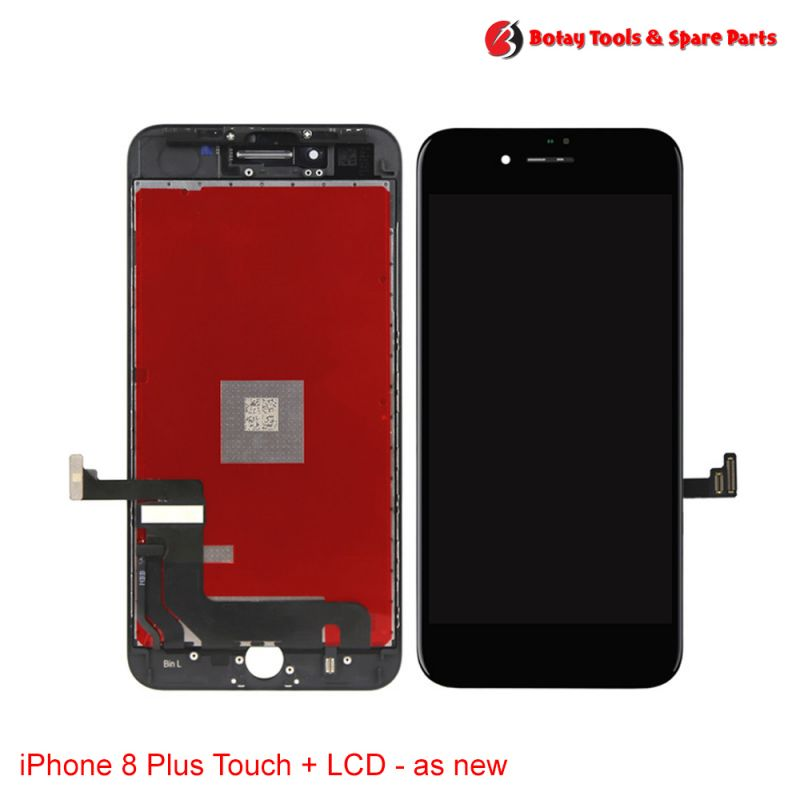iPhone 8 Plus LCD Display and Touch Screen Digitizer Assembly - as new- Black