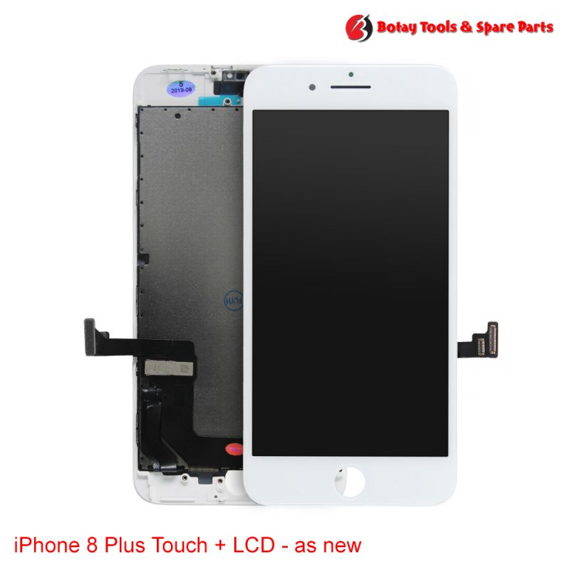 iPhone 8 Plus LCD Display and Touch Screen Digitizer Assembly - as new- White