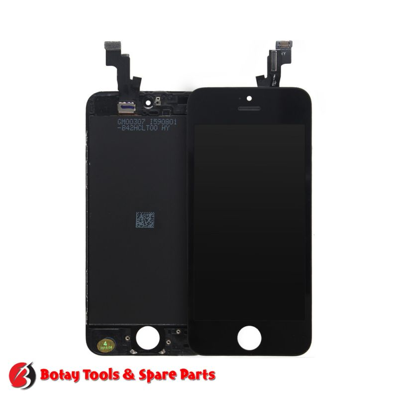 iPhone 5S LCD Display and Touch Screen Digitizer Assembly - as new - Black