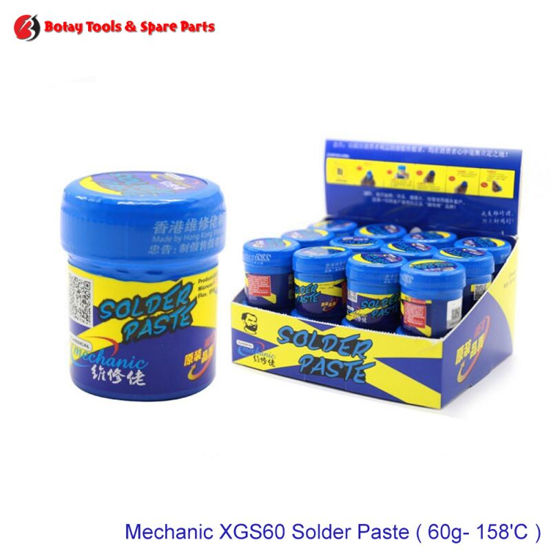 Mechanic XGS60 Solder Paste ( 60g- 158'C )