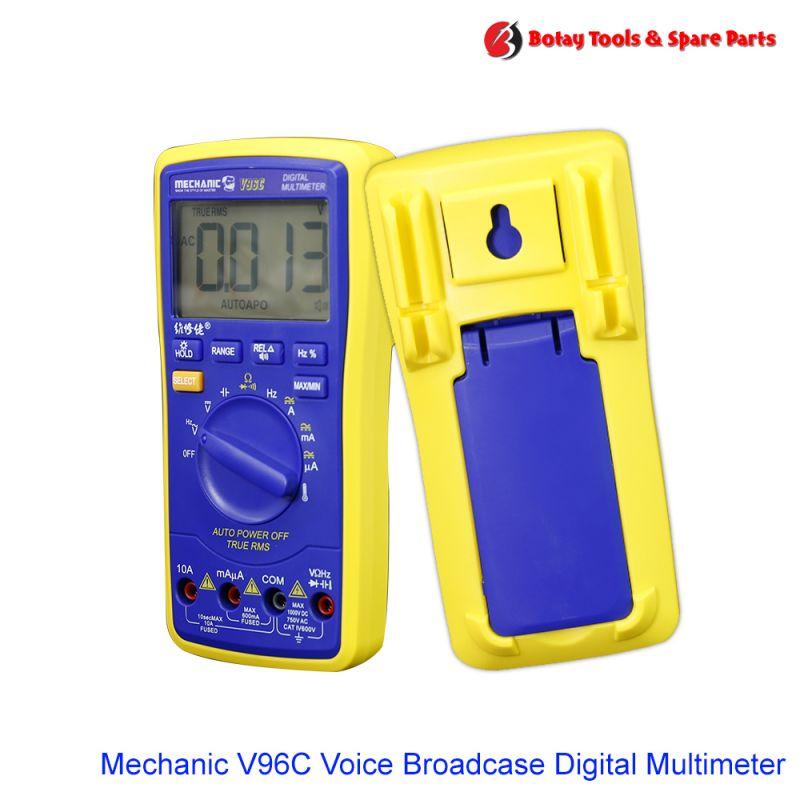 Mechanic V96C Voice Broadcase Digital Multimeter