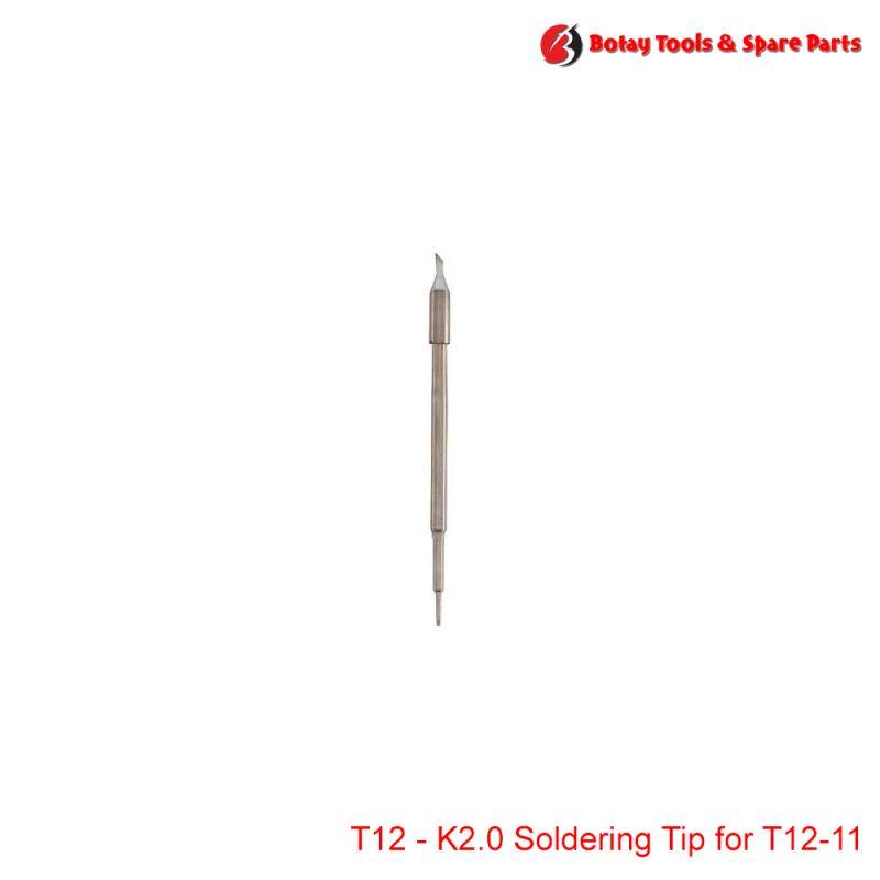 T12-K2.0 Soldering Tip for T12-11