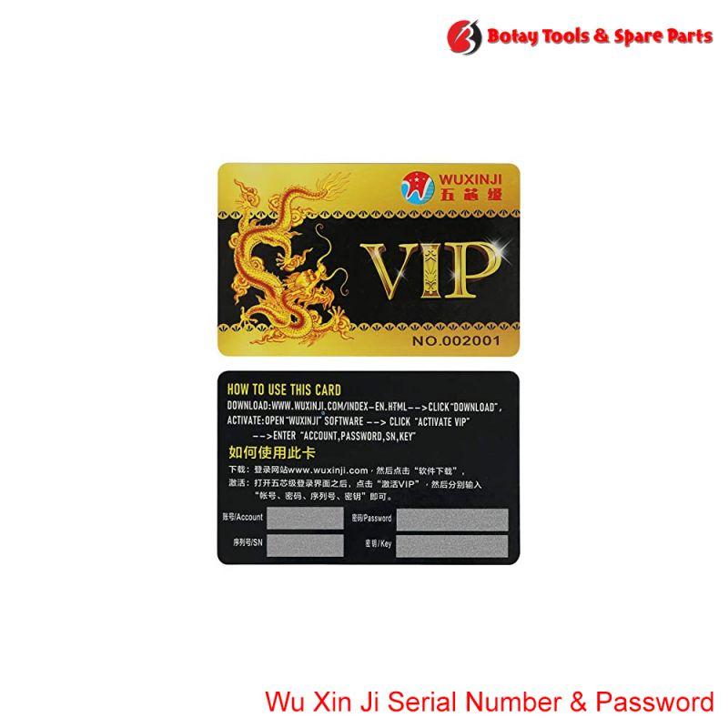 Wu Xin Ji Serial Number & Password