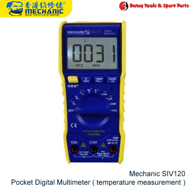 Mechanic SIV120 Pocket Digital Multimeter ( temperature measurement )