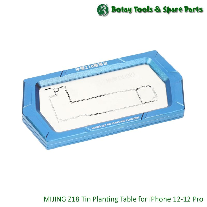 MIJING Z18 Tin Planting Table for iPhone 12, 12 Pro