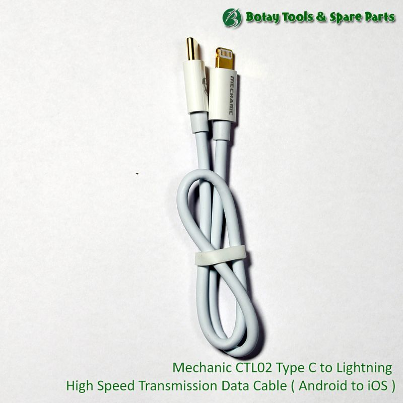 Mechanic CTL02 Type C to Lightning High Speed Transmission Data Cable ( Android to iOS )