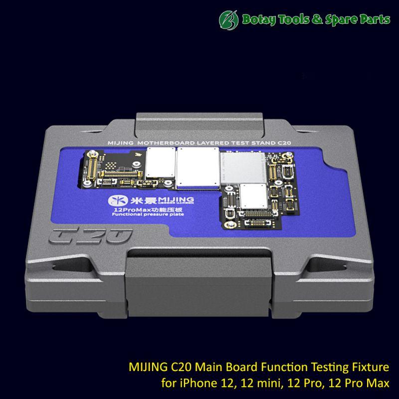 MIJING C20 Main Board Function Testing Fixture for iPhone 12, 12 mini, 12 Pro, 12 Pro Max